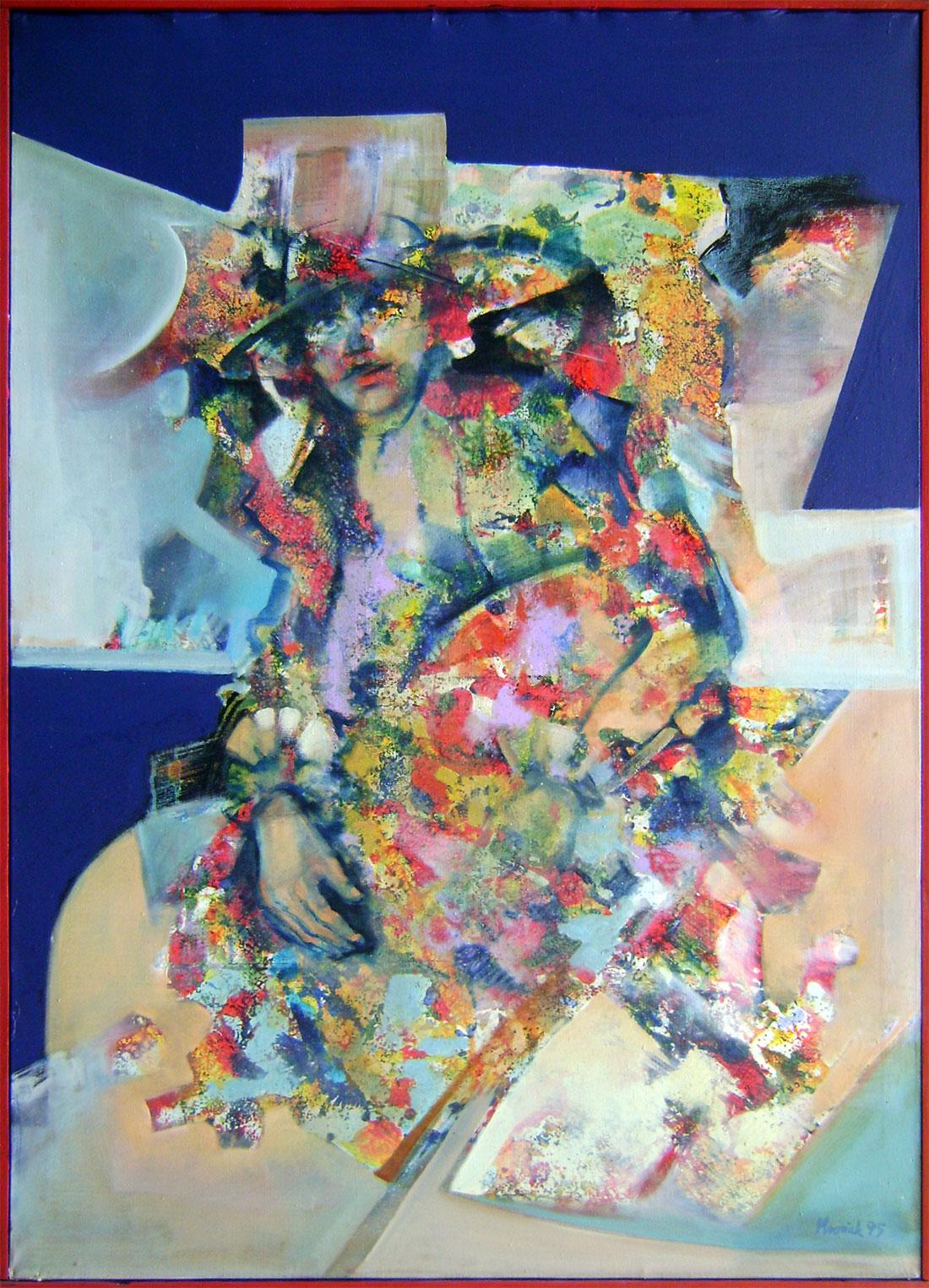 Pavol Kvoriak - Žena v klobúku