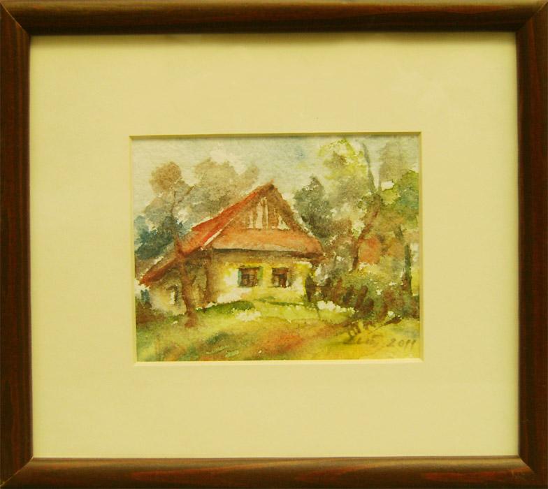 Mária lenárdová - dedinský domček