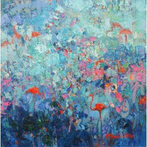 Twardzik-Wilk-Modré plameniaky